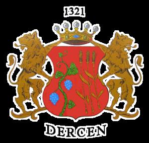 Герб села Дерцен.