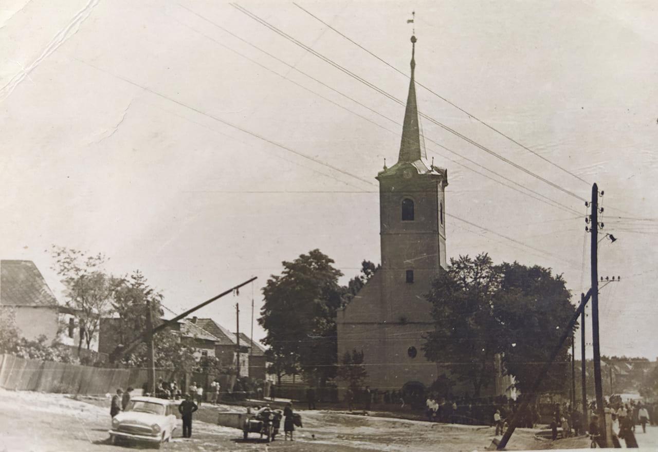 Дерценська реформатська церква 1953 р.